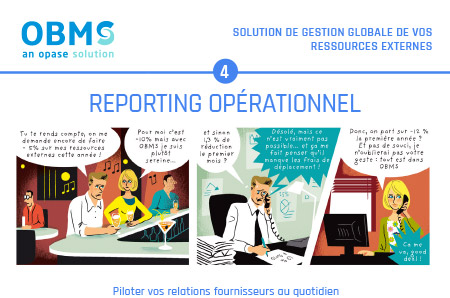 OBMS – Reporting opérationnel