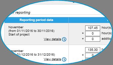 OBMS : écran de suivi et facturation
