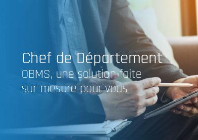 OBMS, la solution pour les Chefs de Département